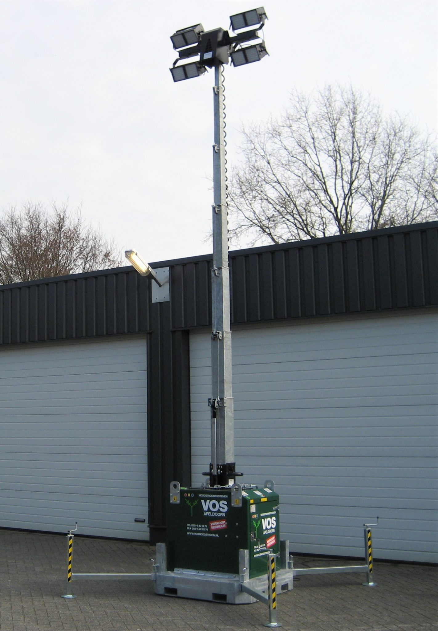 Lichtwagen - Vos Noodstroom